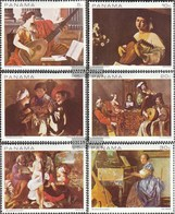 Panama 1087-1092 (complete Issue) Unmounted Mint / Never Hinged 1968 Musical Representation On Gemäld - Panama