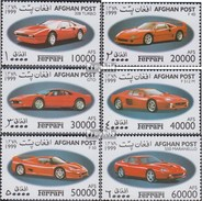 Afghanistan 1910-1915 (complete.issue.) Unmounted Mint / Never Hinged 1999 Ferrari-Automobile - Afghanistan