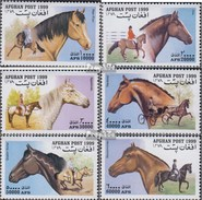 Afghanistan 1903-1908 (complete.issue.) Unmounted Mint / Never Hinged 1999 Horses - Afghanistan