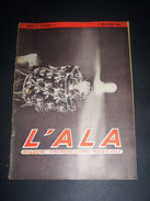 Modellismo Aereo - L' Ala : Aviazione Aeromodellismo Volo A Vela N. 11 Del 1946 - Libri, Riviste, Fumetti