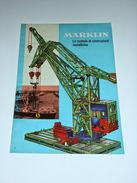 Modellismo - Brochure Marklin Le Scatole Di Costruzioni Metalliche 1964 I - Livres, BD, Revues