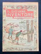Scienza E Tecnica - Il Giovane Inventore - Lo Ski - N° 53 - 1926 - Books, Magazines, Comics