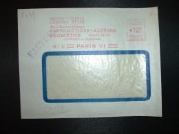 LETTRE EMA CG 2449 à 12F Du 3 I 52 PARIS VI + LIBRAIRIE CLASSIQUE EUGENE BELIN - Marcophilie (Lettres)