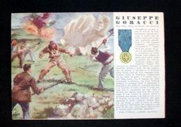 WWII Cartolina - Medaglie D' Oro Guerra 1940 - Goracci - Militari
