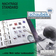 Schaubek KTP869 Headed Country Sheets Serbia Herzeg-Bosna. With Marks. Pack With 10 - Albums & Binders