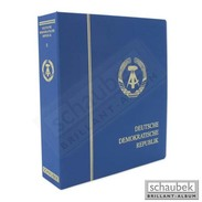 Schaubek L-64602B Album GDR 1967-1977 B, In A Screw Post Binder Blue, Vol. II Without Slipcase - Albums & Binders