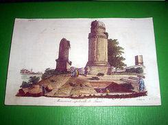Stampa Incisione Costumi Asia Monumenti Sepolcrali Fenici (incisore Sasso ) 1800 - Stampe & Incisioni