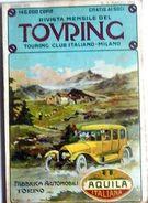Rivista Touring TCI  N. 3 - 1913 Brunello - Libri, Riviste, Fumetti