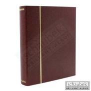 Schaubek Rb-1121 Universal Foil Sheet Album, E.g. For FDC Incl. 20 Sheets Fo-112 Red - Stockbooks