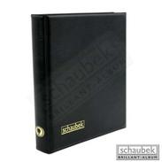 Schaubek Rb2075 Ring Binder Genius Black - Stockbooks