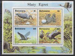 1989 BOTSWANA BF 22 **  Oiseaux, Nids - Botswana (1966-...)