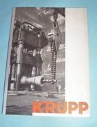 Meccanica - Catalogo Brochure Krupp - 1^ Ed. 1940 Ca - Livres, BD, Revues