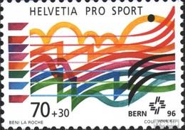 Suisse 1576 (complète.édition) Neuf Avec Gomme Originale 1995 Aide Sportive - Nuovi