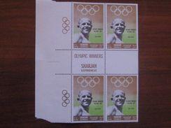 Sharjah 1968 MNH 1952 Olympics 512 Proof - Ete 1952: Helsinki