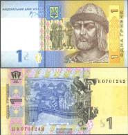 Ukraine Pick-number: 116A A Uncirculated 2006 1 Hryven - Ukraine