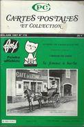 Cartes Postales Et Collections Juin1987  Magazines N: 115 Llustration &  Thèmes Divers 98 Pages - Français
