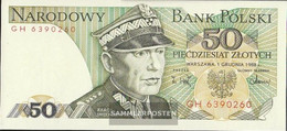 Poland Pick-number: 142c (1986) Uncirculated 1986 50 Zloty - Poland