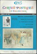 Cartes Postales Et Collections Janvier 1992  Magazines N: 143 Llustration &  Thèmes Divers 98 Pages - French