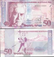 Armenia Pick-number: 41 Uncirculated 1998 50 Dram - Armenia