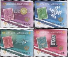 Montenegro 108II-111II (complete Issue) Unmounted Mint / Never Hinged 2006 50 Years Europe Trade - Montenegro