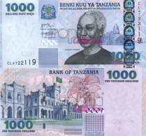 Tanzania Pick-number: 36a Uncirculated 2003 1.000 Shilingi - Tanzania