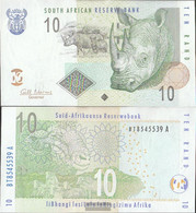 South Africa Pick-number: 128b Uncirculated 2005 10 Rand - Suráfrica
