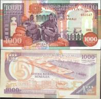 Somalia 37a Uncirculated 1990 1.000 Shilling - Somalia