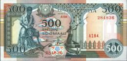 Somalia Pick-number: 36c Uncirculated 1996 500 Shillings Boat - Somalia