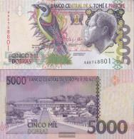 Sao Tome E Principe Pick-number: 65d Uncirculated 2013 5.000 Dobras - Sao Tome And Principe