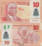 Nigeria Pick-number: 39d Uncirculated 2013 10 Naira - Nigeria