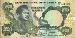 Nigeria Pick-number: 26f Uncirculated 1984 20 Naira - Nigeria