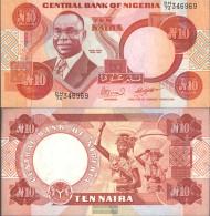 Nigeria Pick-number: 25e Uncirculated 2000 10 Naira - Nigeria