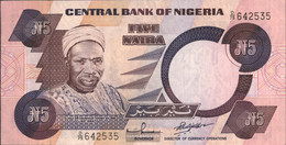Nigeria Pick-number: 24f Uncirculated 2001 5 Naira - Nigeria
