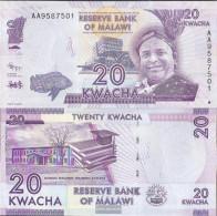Malawi Pick-number: 57a Uncirculated 2012 20 Kwacha - Malawi