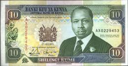 Kenya 24e Uncirculated 1993 10 Shillings - Kenya