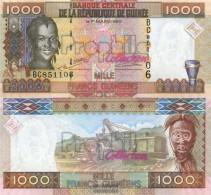 Guinea Pick-number: 40 Uncirculated 2006 1.000 Francs - Guinea