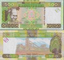 Guinea Pick-number: 39a Uncirculated 2006 500 Francs - Guinea