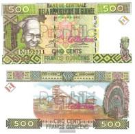 Guinea Pick-number: 36 Uncirculated 1998 500 Francs - Guinea