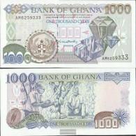 Ghana Pick-number: 32d Uncirculated 1999 1.000 Cedis - Ghana