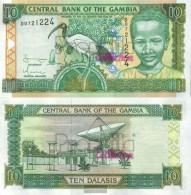 Gambia Pick-number: 21c Uncirculated 2001 10 Dalasis Ibis - Gambia