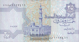 Egypt Pick-number: 57 (13.7.2008) Signature 22 Uncirculated 2008 25 Piastres - Egypt