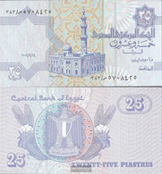 Egypt Pick-number: 57g, Signature 22 (24.9.2006) Uncirculated 2006 25 Piastres - Egypt