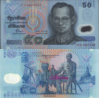 Thailand Pick-number: 102a Uncirculated 1997 50 Baht (plastic) - Thailand
