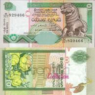Sri Lanka Pick-number: 108c Uncirculated 2004 10 Rupees - Sri Lanka