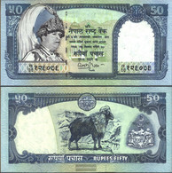 Nepal Pick-number: 48 Uncirculated 2002 50 Rupees - Nepal