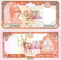 Nepal Pick-number: 47 Uncirculated 2002 20 Rupees - Nepal