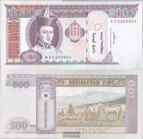 Mongolia Pick-number: 65b Uncirculated 2008 100 Tugrik - Mongolia