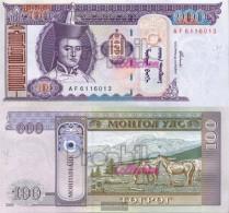 Mongolia Pick-number: 65a Uncirculated 2000 100 Tugrik - Mongolia