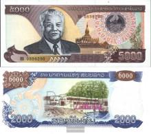 Laos Pick-number: 34a Uncirculated 1997 5.000 Kip - Laos
