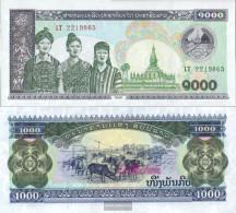 Laos Pick-number: 32A A Uncirculated 1998 1.000 Kip - Laos